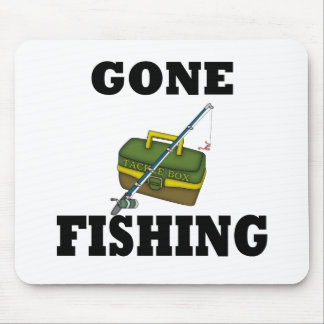 Gone Fishing Mouse Mat
