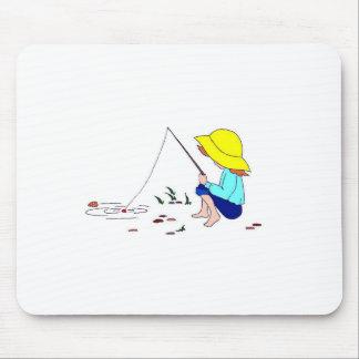 Gone Fishing Mousepads