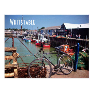 Gone Fishing Picturesque Whitstable Kent Image Postcard