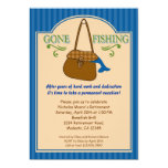 Gone Fishing Retirement Party Invitation 13 Cm X 18 Cm Invitation Card