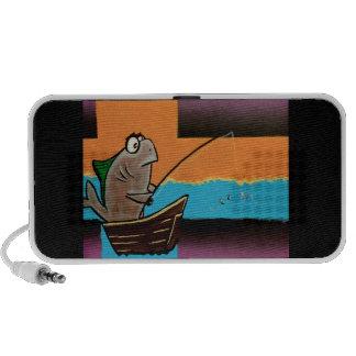 Gone Fishing iPod Speaker