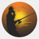 Gone Fishing Sticker