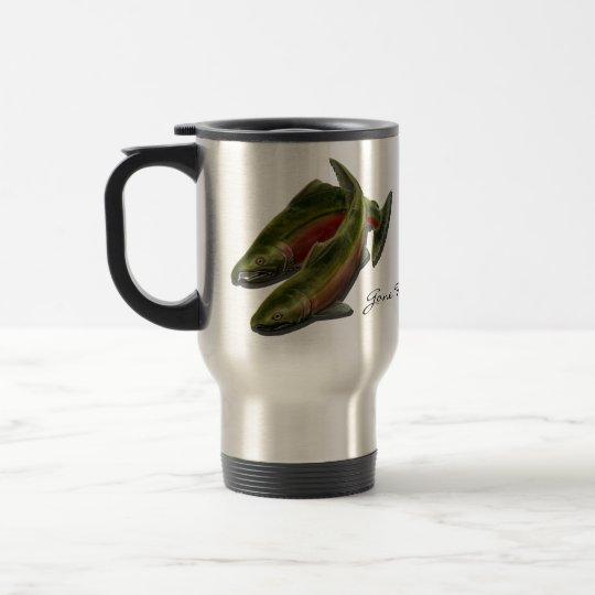 Gone Fishing Travel Mug Personalised Fishing Gifts