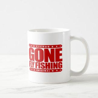 GONE FLY FISHING - State Freshwater Record Holder Coffee Mug