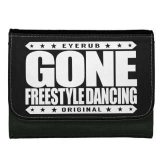 GONE FREESTYLE DANCING - Luv No-Choreography Dance Leather Wallets