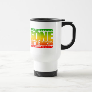 GONE FREESTYLE DANCING - Luv No-Choreography Dance Stainless Steel Travel Mug