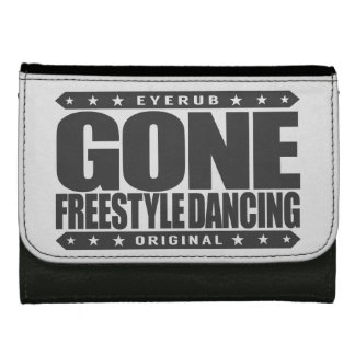 GONE FREESTYLE DANCING - Luv No-Choreography Dance Wallets For Women