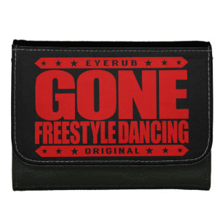 GONE FREESTYLE DANCING - Luv No-Choreography Dance Women's Wallets