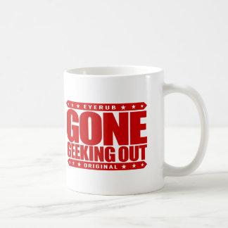 GONE GEEKING OUT - I Love Technology & Nerdy Stuff Basic White Mug