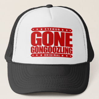 GONE GONGOOZLING - I Am Canal Observer, Gongoozler Trucker Hat