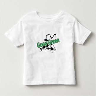 Gone Green (Tricycle) Toddler T-Shirt