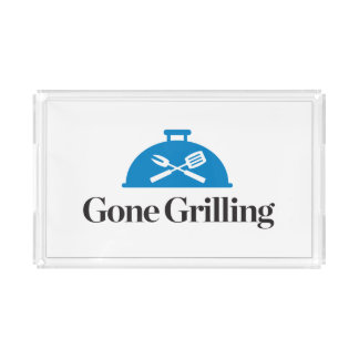 Gone Grilling Acrylic Tray