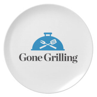 Gone Grilling Plate