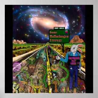 Gone Hallucinogen Freeway Posters