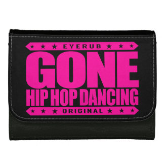 GONE HIP HOP DANCING - Love Freestyle Street Dance Leather Wallet