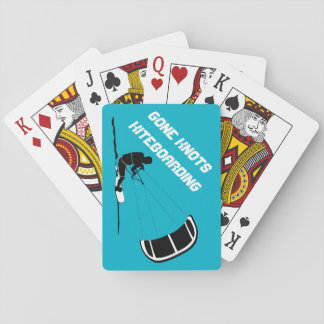 Gone Knots Kiteboarding playing cards