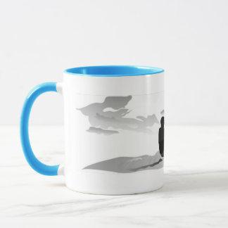 Gone Knots Kitesurfing - Blue accent Mug