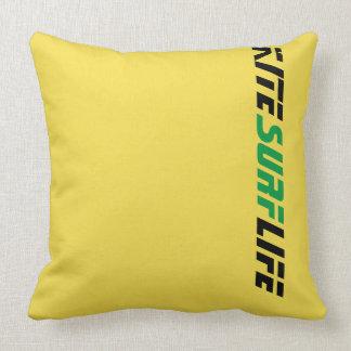 Gone Knots Kitesurfing - Throw Pillow
