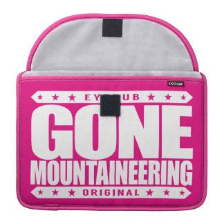 GONE MOUNTAINEERING - Skilled Alpine Style Climber Sleeves For MacBook Pro