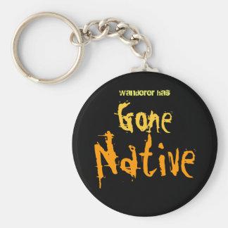 Gone Native Key Ring