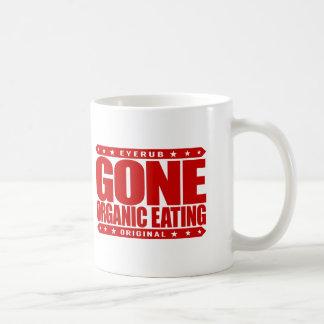 GONE ORGANIC EATING - Eat Non-GMO Vegetarian Foods Basic White Mug
