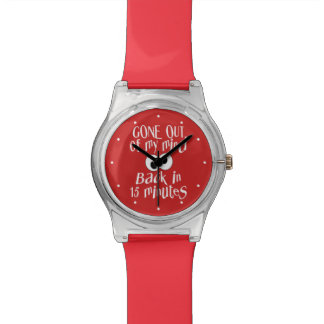 """""""Gone Out Of My Mind"""" custom watches"""