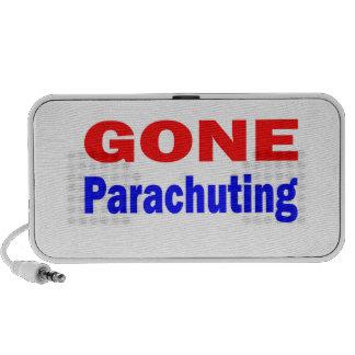 Gone Parachuting. Laptop Speaker