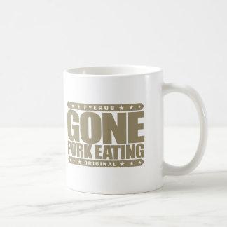 GONE PORK EATING - I Love Swine Hog Pig Boar Meat Basic White Mug