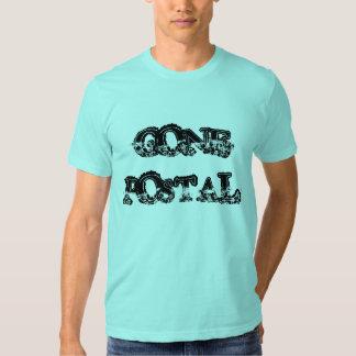 """Gone Postal"" t-shirt"
