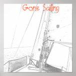 Gone Sailing Print