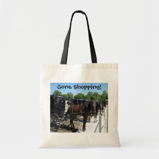 Gone Shopping! Tote Bag