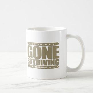 GONE SKYDIVING - I Love Parachuting & Base Jumping Basic White Mug