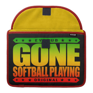 GONE SOFTBALL PLAYING - World Series Championship Sleeves For MacBooks