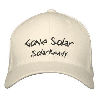 Gone Solar Baseball Cap
