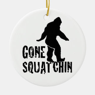 Gone Squatchin 2 Christmas Ornament
