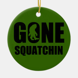 Gone Squatchin 3 Christmas Ornament