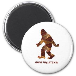 Gone Squatchin BACON 6 Cm Round Magnet