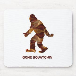 Gone Squatchin BACON Mousepads