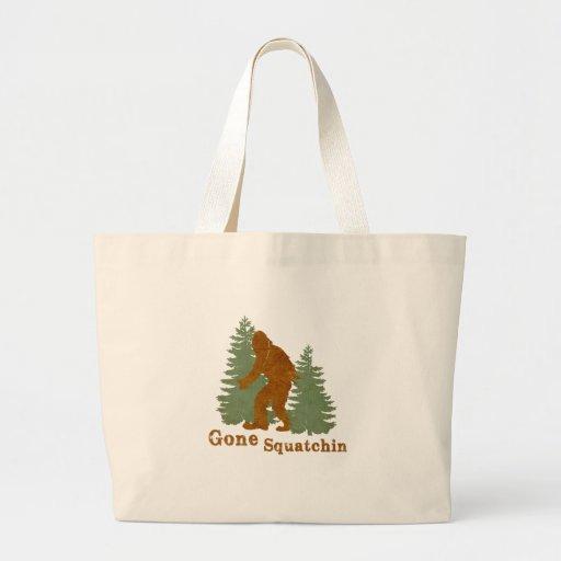 Gone Squatchin Canvas Bag