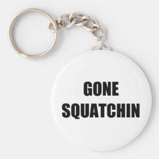 GONE SQUATCHIN BASIC ROUND BUTTON KEY RING