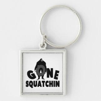 Gone Squatchin - Bigfoot holding O Keychain
