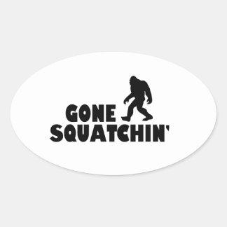 Gone Squatchin | Bigfoot Sasquatch Sticker