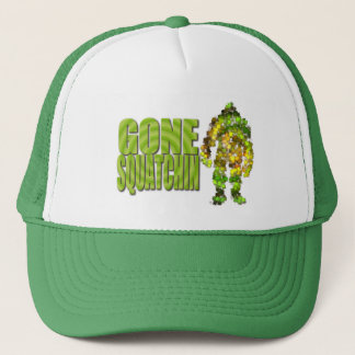 Gone Squatchin: Bobo will never find Bigfoot Trucker Hat