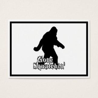 Gone Squatchin' Business Card