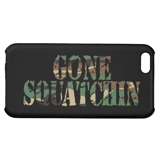 Gone Squatchin Camo Case For iPhone 5C