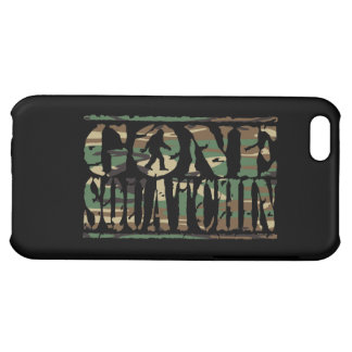 GONE SQUATCHIN CAMO iPhone 5C COVER