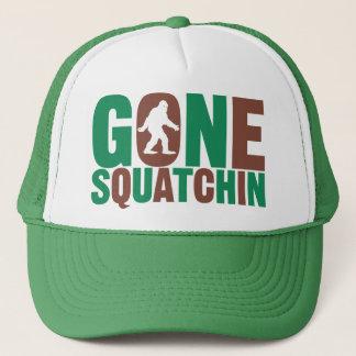 Gone Squatchin Camo Letters Hat