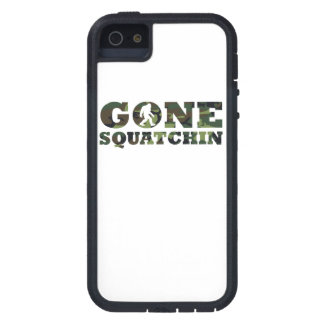 Gone Squatchin Camouflage iPhone 5 Cases