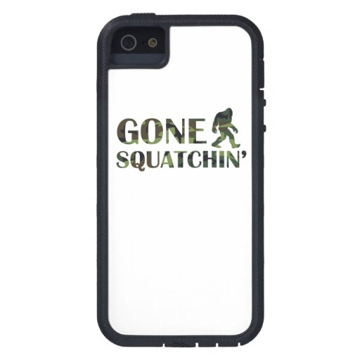 Gone Squatchin' Camouflage Case For iPhone 5/5S