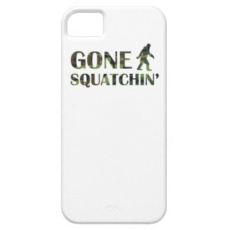 Gone Squatchin' Camouflage iPhone 5 Cases